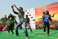 Ranveer Sing Promoting Ram-Leela at SVN college, Lucknow