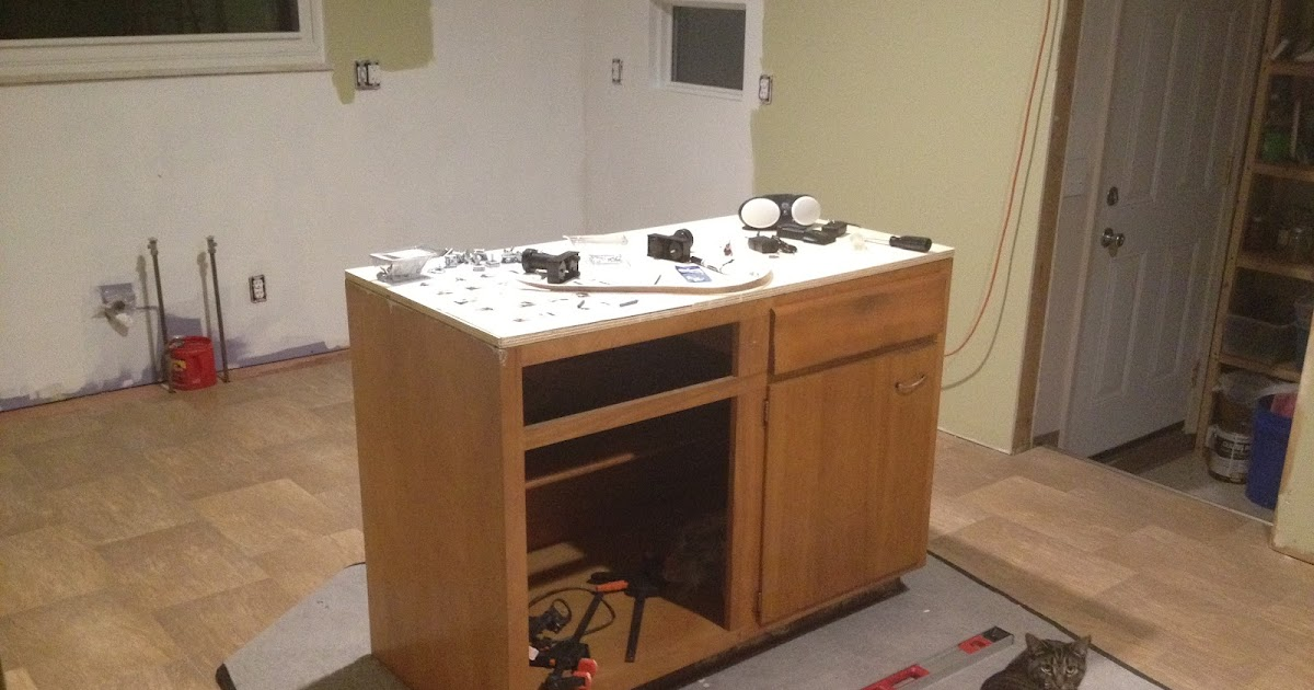Our Ikea Kitchen First Cabinet Installation