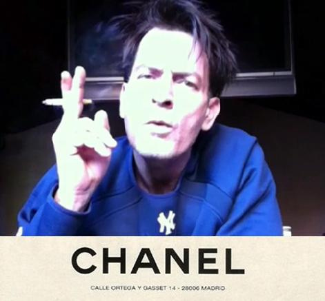 tumblr_li6im61WsG1qd8mylo1_500 art and design in contemporary society charlie sheen chanel