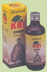 Homoeopathic Cough Syrup India