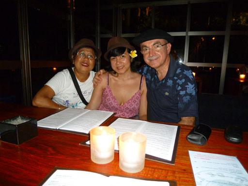 Restaurante Kudeta en Bali