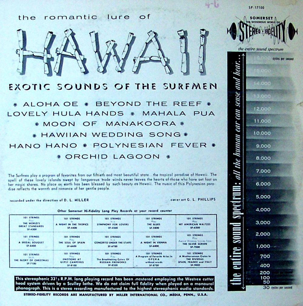 The Surfmen - Hawaii