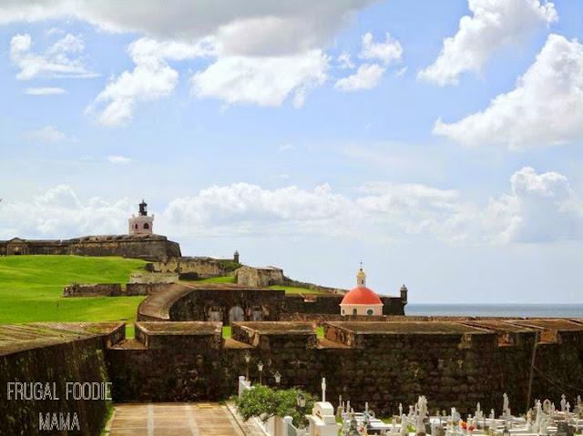Castillo San Felipe del Morro in Old San Juan, Puerto Rico