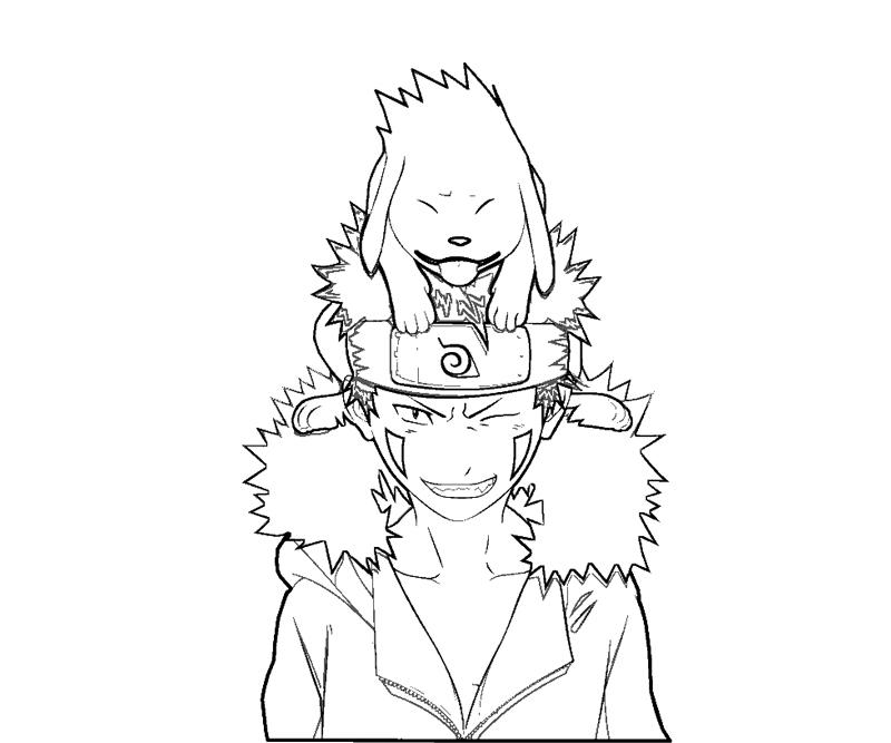 kiba coloring pages - photo#4