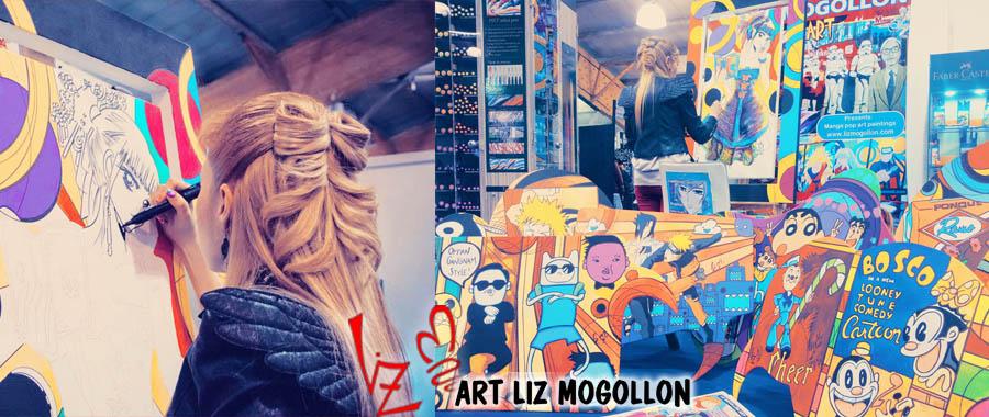 Liz Mogollón - Artista.