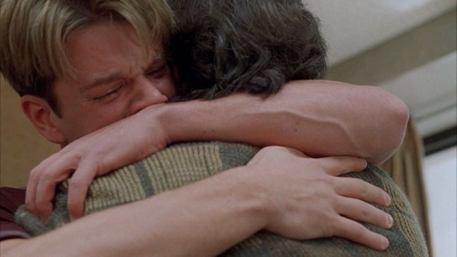 how to not cry in an emotional scene