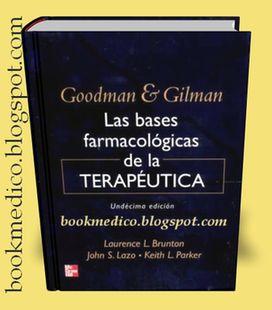 descargar libro de farmacologia de goodman y gilman gratis