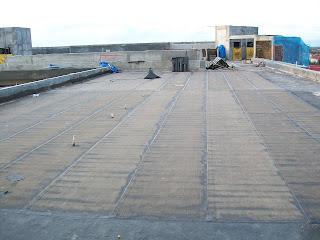 hasil akhir waterproofing membrane