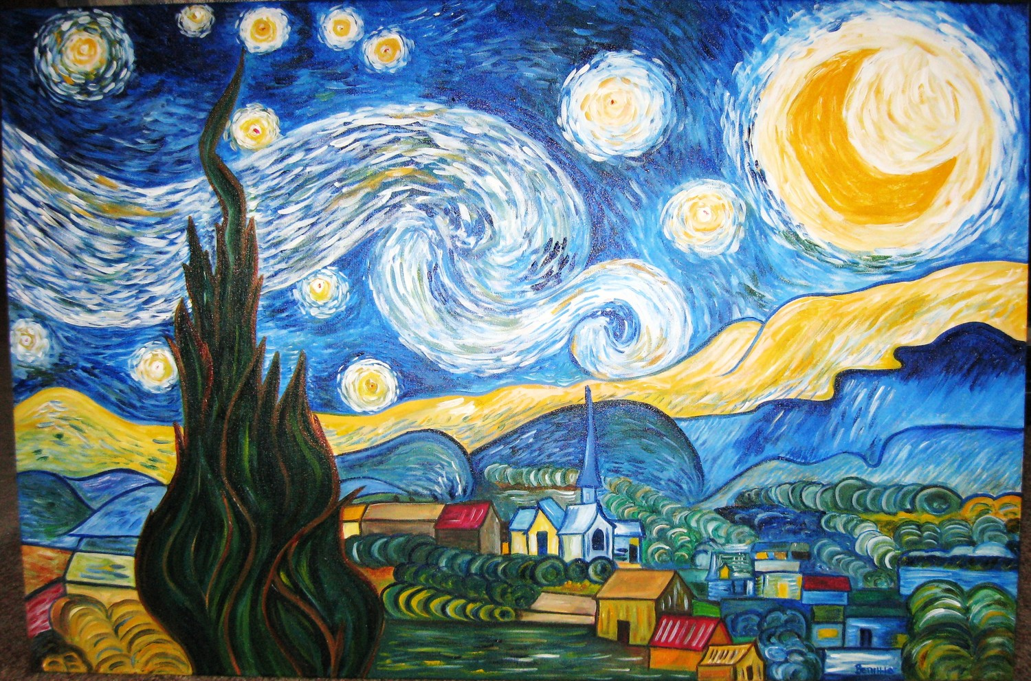 expressionism van goughs starry night essay Expressionism: van gough's starry night starry night expressionism was considered a movement in fine art starry night, van gogh essay.