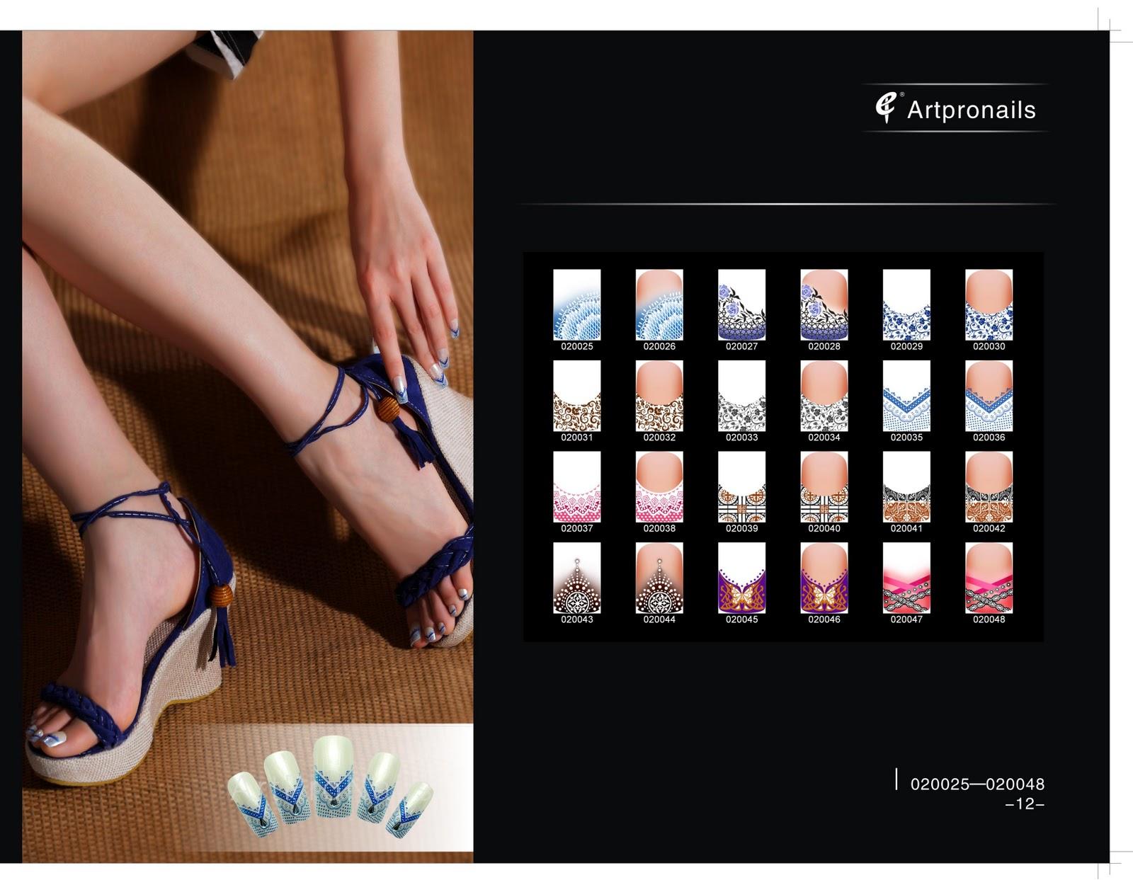 ArtPro Nails @SG: Catalog for Digital Nail Art Design