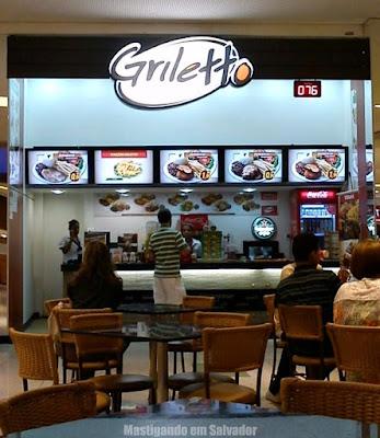 Griletto Grelhados e Parmegianas: Fachada