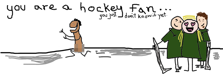 You are a Hockey Fan...you just don't know it yet.