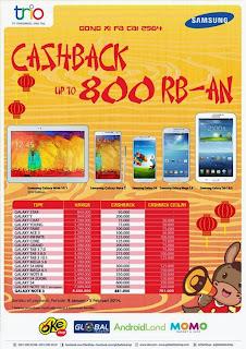 Gong Xi Fa Cai Promo Cashback
