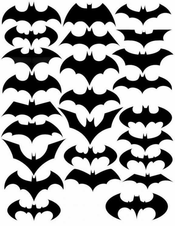 Los logos de batman