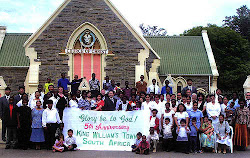 Locale of King William's town, South Africa