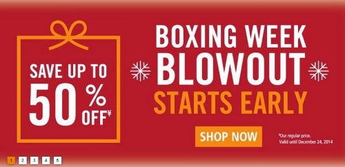 Marks's Boxing Week Blowout Starts Early Up To 50% Off