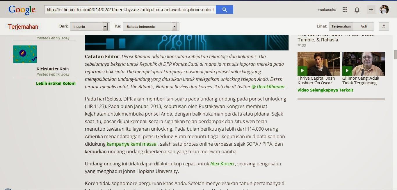 Tips Translate Halaman Website Bahasa Lain dengan Mudah dan Simpel di Google Translate