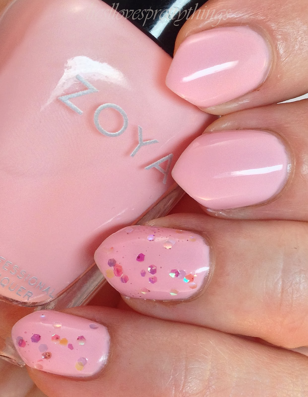 Zoya Dot swatch and review
