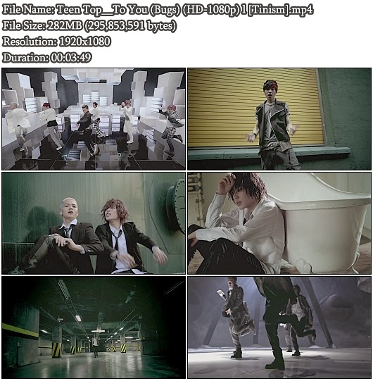 Download MV Teen Top () - To You (Bugs Full HD 1080p)