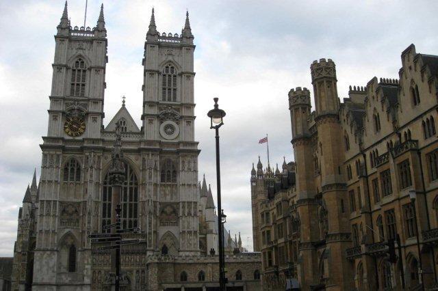 Abadia de Westminster donde se celebrara la boda del Principe Guillermo y Kate Middleton