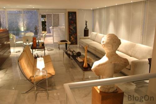 Blogon como decorar sala de estar grande dicas fotos e for Como decorar sala grande
