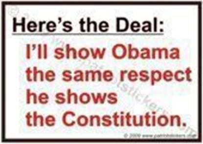 Obama Respect