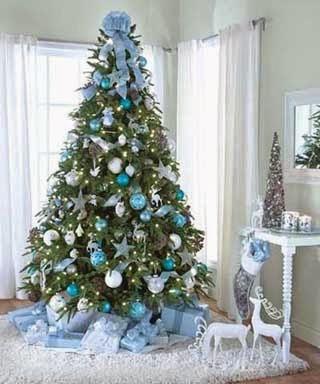 fotos de ideas para decorar el arbol de navidad