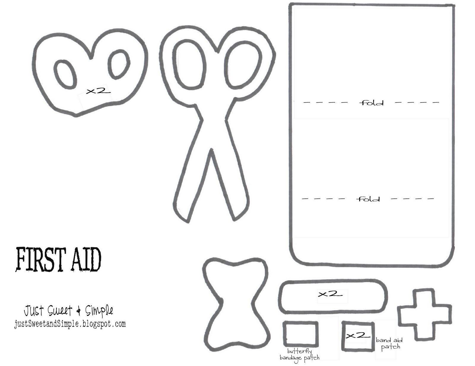 free first aid for kids coloring pages