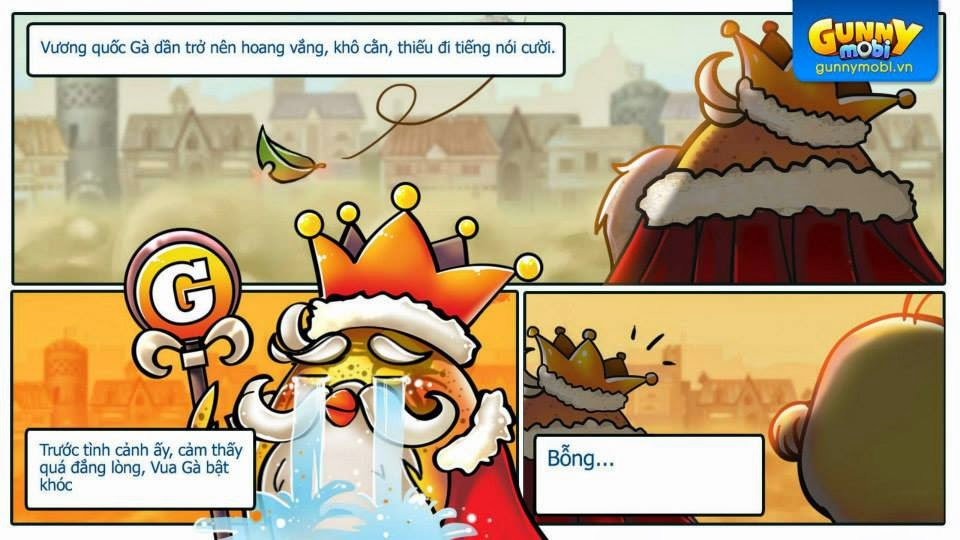 Gunny mobi truyền kỳ Chương 1: Vương quốc lâm nguy phần 4