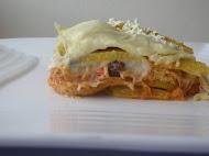 Platos Criollos/Pastel de plátano y pollo