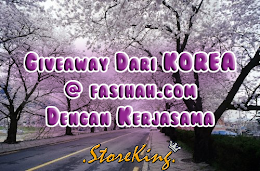 Giveaway Dari Korea @fasihah.com