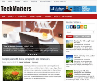 TechMatters-Blogger-Template