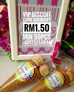 VIP BISCUIT CONE DOORGIFT