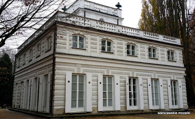 Warszawa Łazienki Królewskie park Dominik Merlini Warsaw