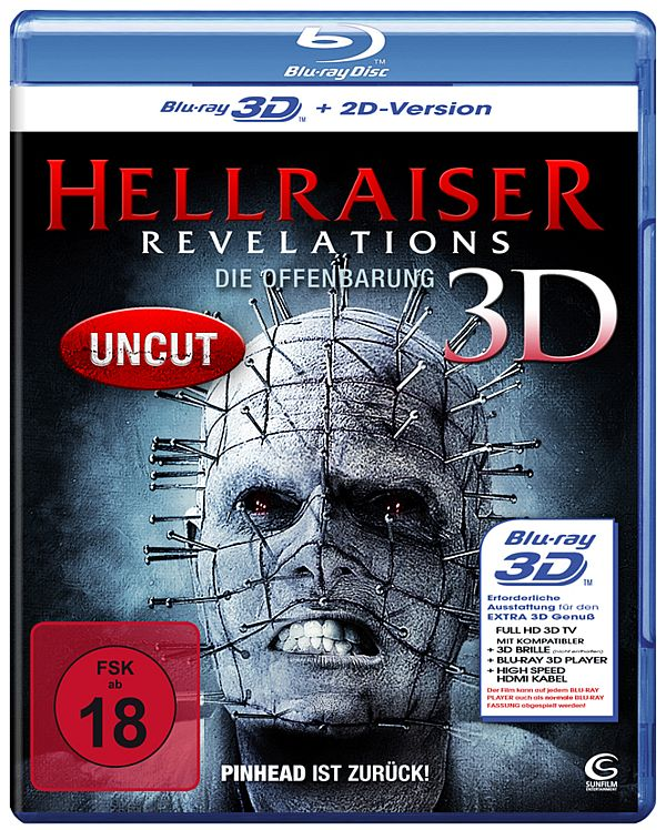 Hellraiser: Revelations Blu-ray Cover