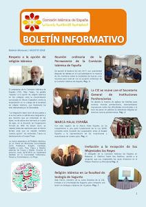 Boletín de la CIE agosto 2018