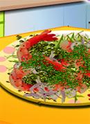Креветки с чесноком - Онлайн игра для девочек