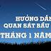 Hướng dẫn quan sát bầu trời tháng 1 năm 2014
