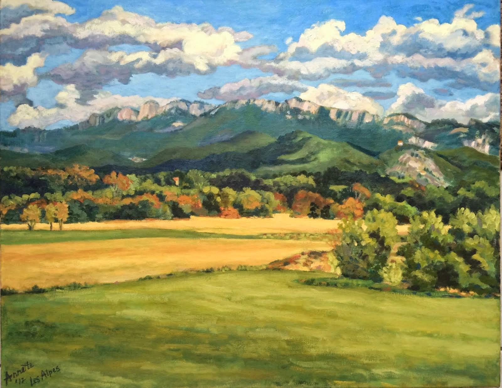 Les Alpes  2012