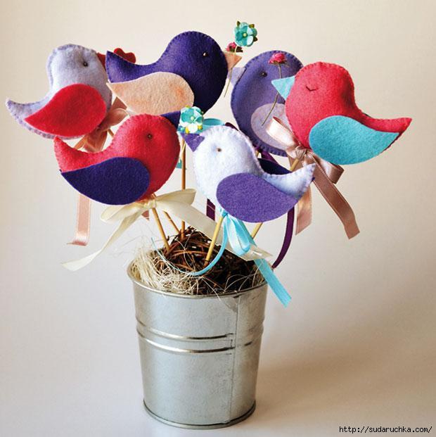 Поделка птица. Бумажные птицы. Поделки птиц своими руками Птичка украшения своими руками