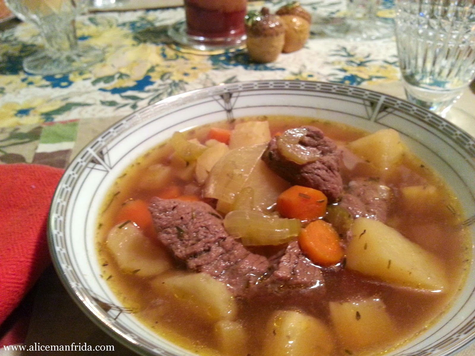Alice Cooks, Beef Stew, Soup, Stew, dinner, supper, recipe