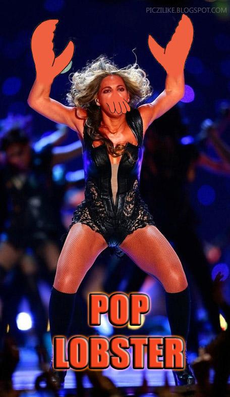 Picz I Like: Beyonce Half Time Show Meme: Pop Lobster