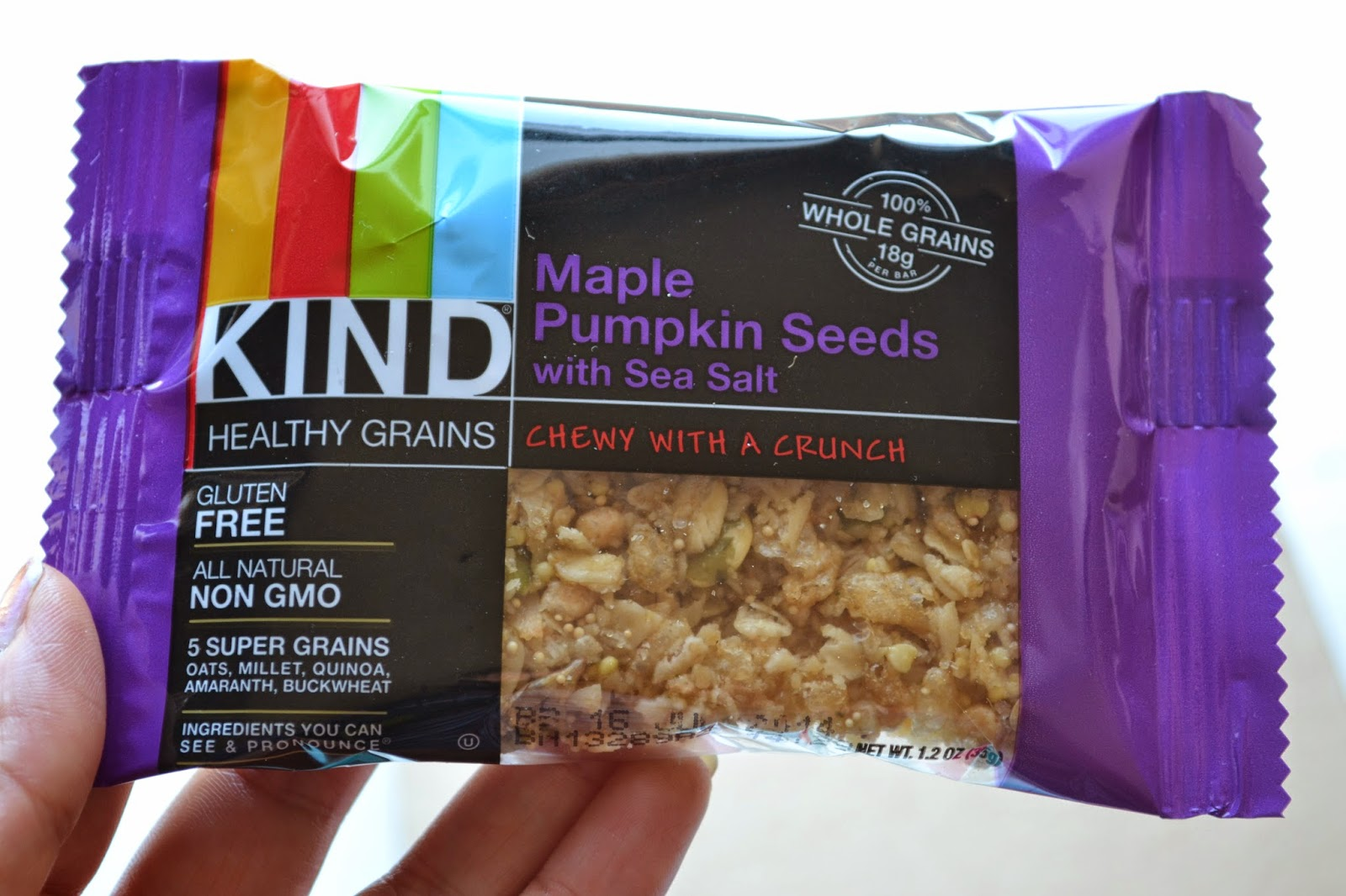 Maple Pumpkin Seeds Kind Bar