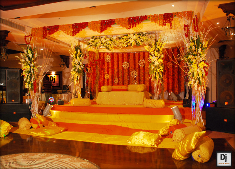 Simplicity Is The Keynote Of All True Elegance Mehndi Stage Decoration