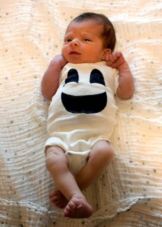 baby ghost onesie