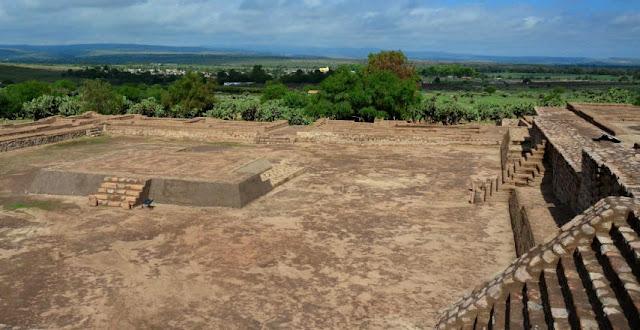 Zona Arqueológica, Cóporo Guanajuato