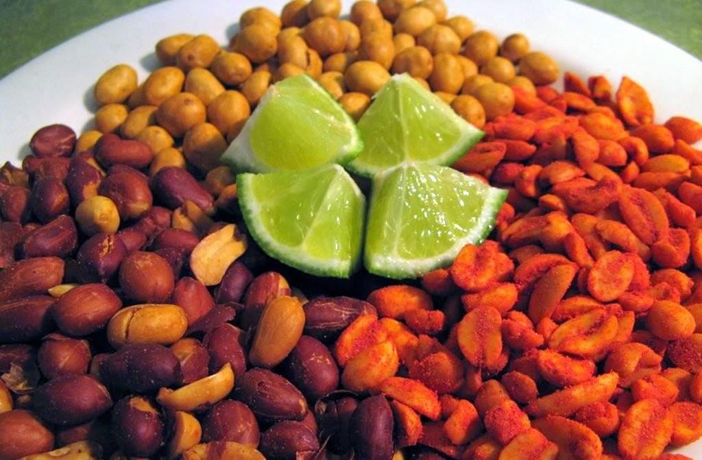 Cacahuate Cacahuates Enchilados Receta