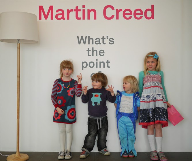 Martin Creed exhibition at the Hayward,  Southbank by Alexis at www.somethingimade.co.uk