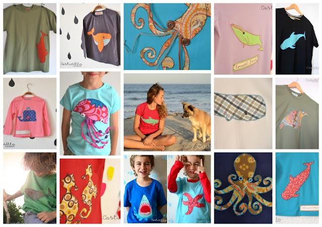 Camisetas Costurilla y el mar