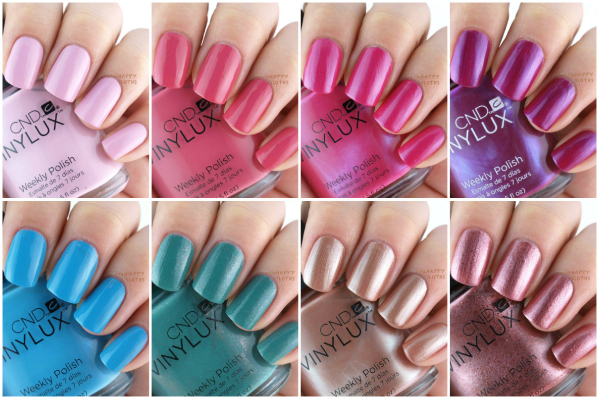 CND Vinylux Spring 2016 Art Vandal Collection: Review and Swatches ...